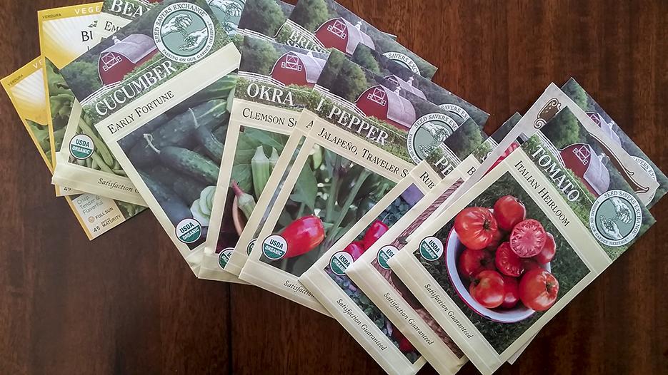 The Organic Heir | Organic Heirloom Seeds