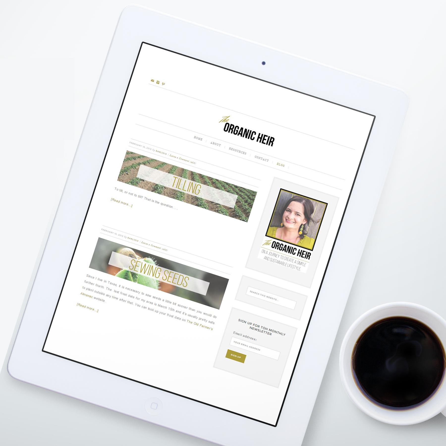 The Organic Heir Blog